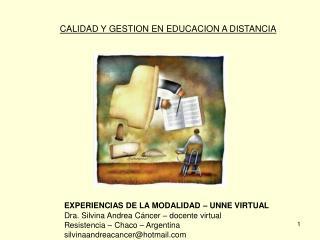 CALIDAD Y GESTION EN EDUCACION A DISTANCIA