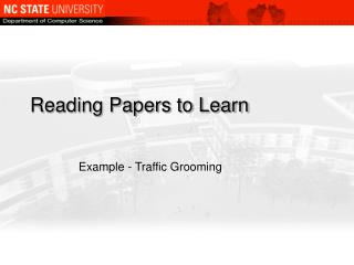 Reading Papers to Learn