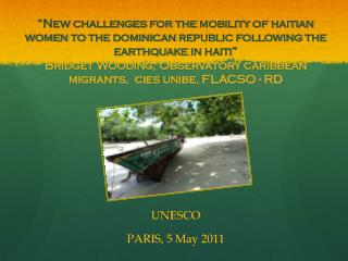 UNESCO PARIS, 5  May  2011