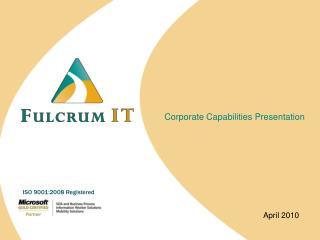 Corporate Capabilities Presentation