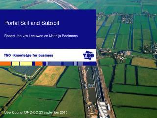 Portal Soil and Subsoil Robert Jan van Leeuwen en Matthijs Poelmans