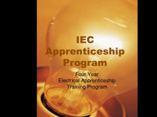 IEC Apprenticeship Program