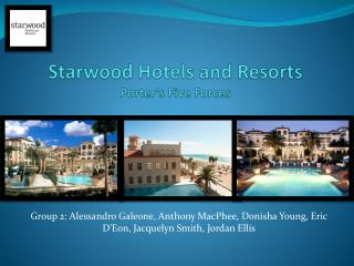 Starwood Hotels and Resorts Porter's Five Forces
