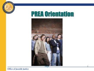 PREA Orientation