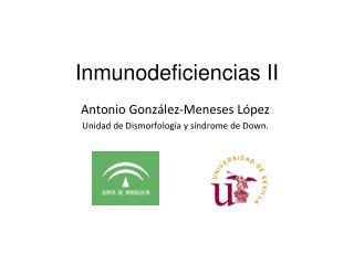 Inmunodeficiencias II