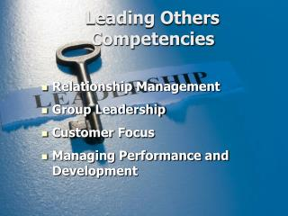 Leading Others Competencies