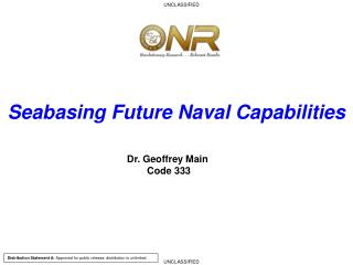 Seabasing Future Naval Capabilities