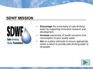 School Program Overview PowerPoint - Welcome to Safewater