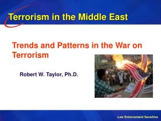 Trends and Patterns in the War on Terrorism