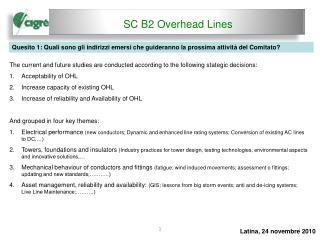 SC B2 Overhead Lines