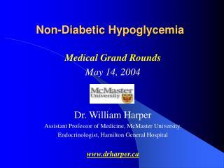 Non-Diabetic Hypoglycemia