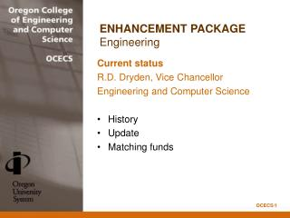 ENHANCEMENT PACKAGE Engineering