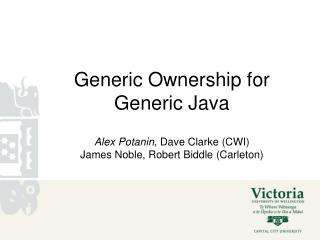 Generic Ownership for Generic Java