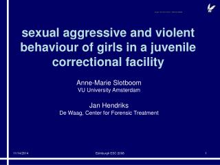 assessing and addressing offender behaviour Harmful sexual behaviour in male adolescents: approaches to risk assessment and intervention includes training in the juvenile sex offender assessment address how.