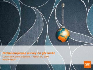 Global employee survey on gfk insite