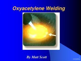 Oxyacetylene Welding
