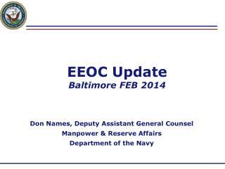EEOC Update Baltimore FEB 2014