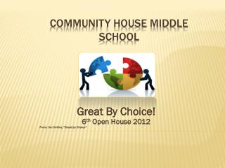 COMMUNITY HOUSE MIDDLE SCHOOL