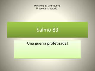 Salmo 83