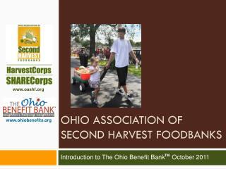 Ohio Association of  second harvest Foodbanks