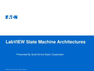 LabVIEW State Machine Architectures