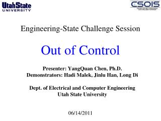 Engineering-State Challenge Session  Out of Control