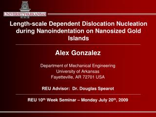 Length-scale Dependent Dislocation Nucleation during Nanoindentation on Nanosized Gold Islands