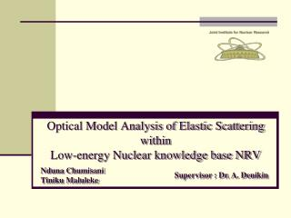 Optical Model Analysis of Elastic Scattering  within  Low-energy Nuclear knowledge base NRV
