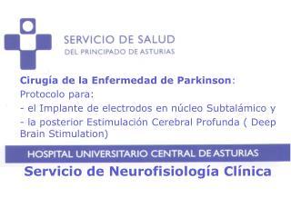 Servicio de Neurofisiología Clínica