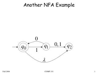 Another NFA Example