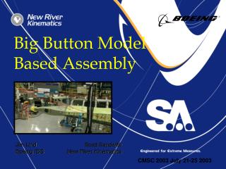 Big Button Model Based Assembly