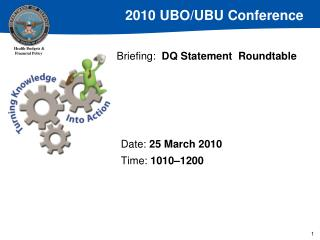 Briefing: DQ Statement  Roundtable