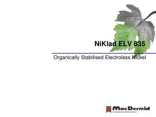 NiKlad ELV 835