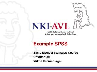 Example SPSS