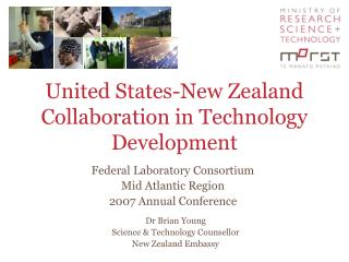 United States-New Zealand Collaboration in Technology Development