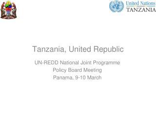 Tanzania, United Republic