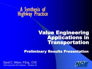A Synthesis of Highway Practice