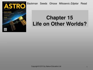 Chapter 15 Life on Other Worlds?