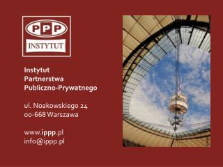 Wzajemne relacje między PPP  a  funduszami UE