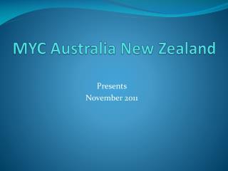 MYC Australia New Zealand