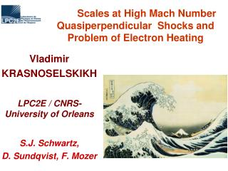 Scales at High Mach Number Quasiperpendicular  Shocks and Problem of Electron Heating