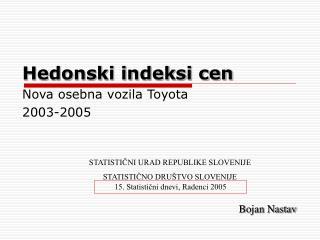 Hedonski indeksi cen