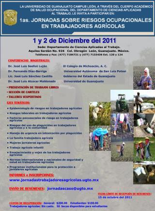 1 y 2 de Diciembre del 2011