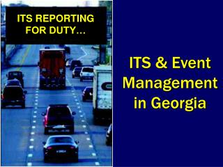 ITS & Event Management in Georgia