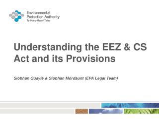 EEZ Act 2012