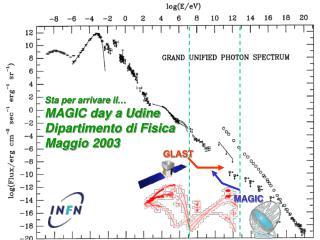 Sta per arrivare il… MAGIC day a Udine Dipartimento di Fisica Maggio 2003