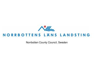 Norrbotten County Council, Sweden