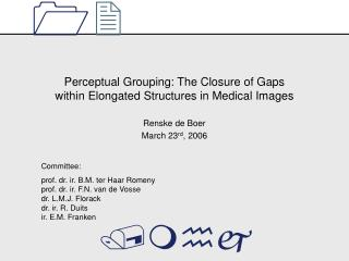 Perceptual Grouping: The Closure of Gaps within Elongated Structures in Medical Images