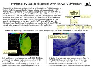 Promoting New Satellite Applications Within the AWIPS Environment