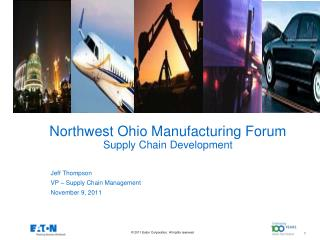 Northwest Ohio Manufacturing Forum Supply Chain Development